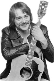 "Dave Keir with Gibson ""œCountry & Western\"" guitar , London, c. 1975"